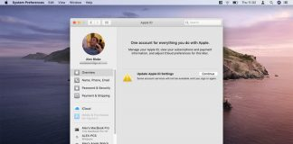 """How to fix the """"Update Apple ID Settings"""" bug in MacOS Catalina"""