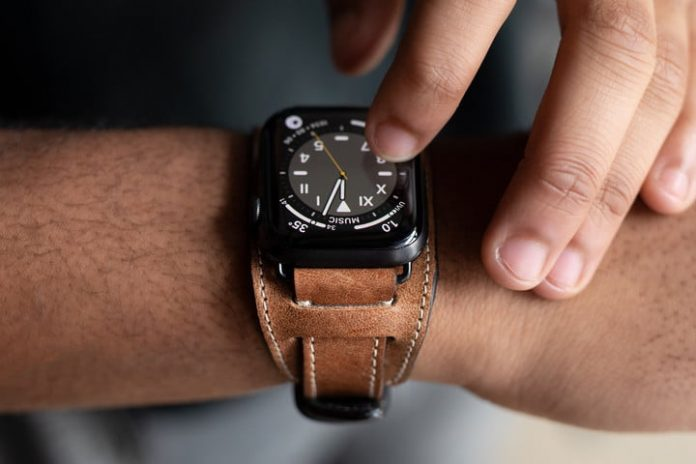 Made from decades-old leather, only 197 of these Apple Watch straps exist