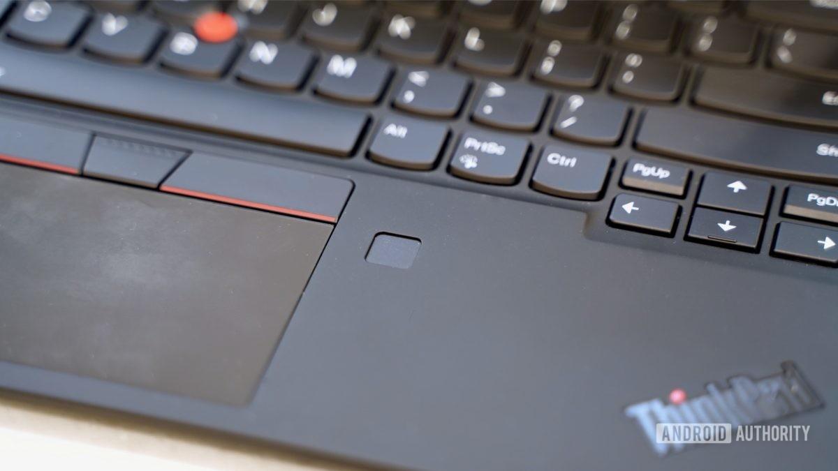 Lenovo ThinkPad X1 Carbon review fingerprint reader