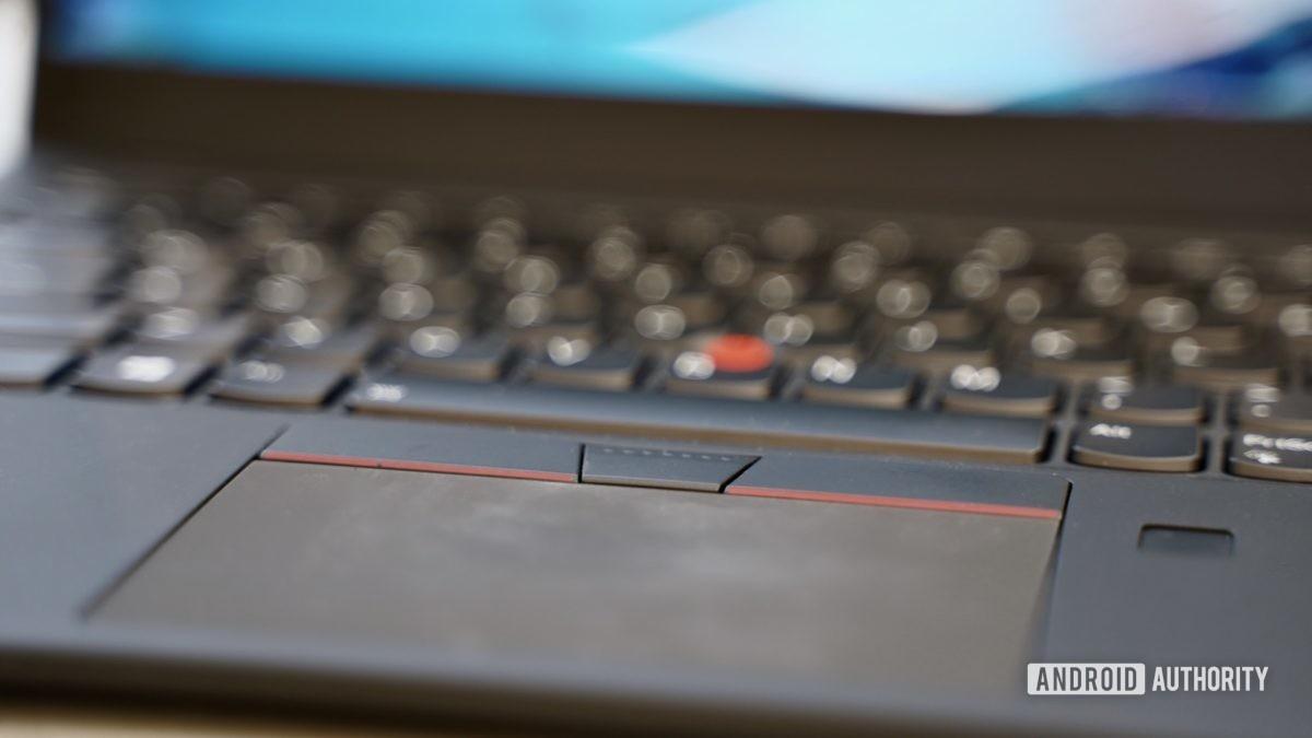 Lenovo ThinkPad X1 Carbon review trackpad
