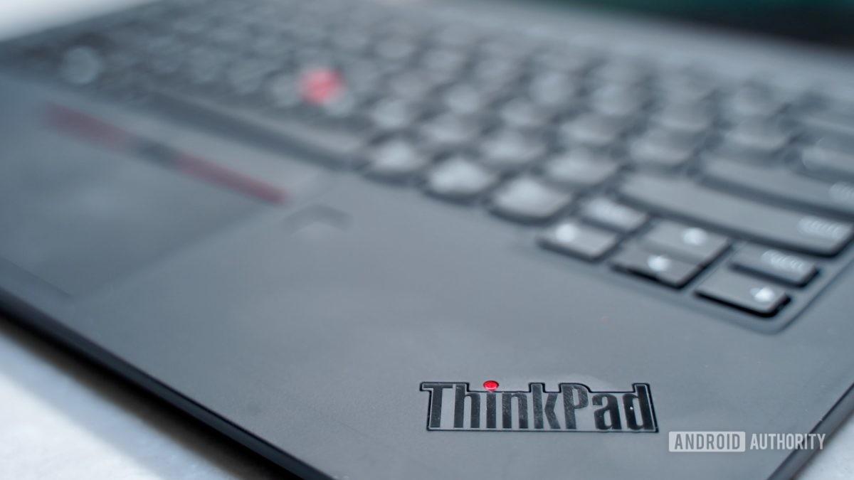 Lenovo ThinkPad X1 Carbon review ThinkPad logo on keyboard