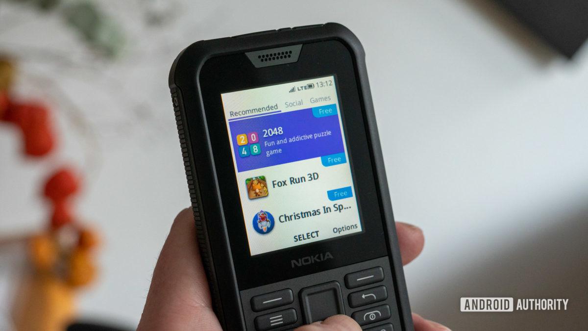 Nokia 800 Tough review KaiOS store