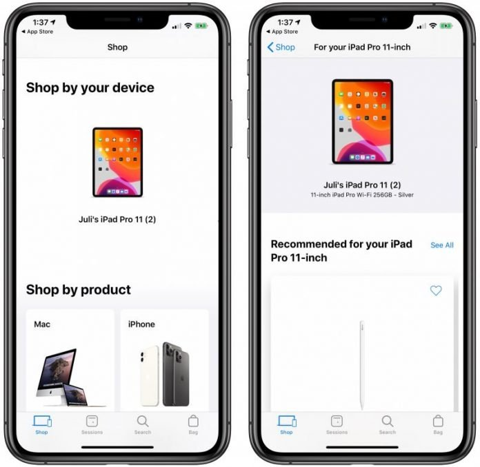 Apple Store App Gains Redesigned Shop Tab