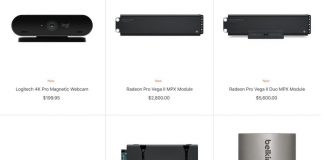 New Mac Pro Accessories Added to Apple Store, Plus Logitech 4K Webcam for Pro Display XDR