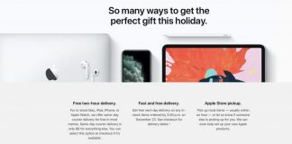 Apple Upgrades Holiday Shipping, Offers Free Next-Day Delivery and Free Courier Service in Some Areas