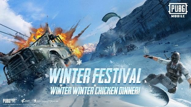 PUBG Mobile invites players to hit the slopes with Winter Festival update