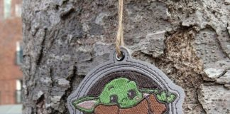 Decorate your Christmas tree with Baby Yoda ornaments