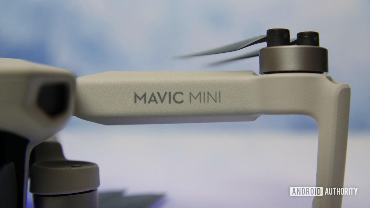 DJI Mavic Mini review propeller arm aa