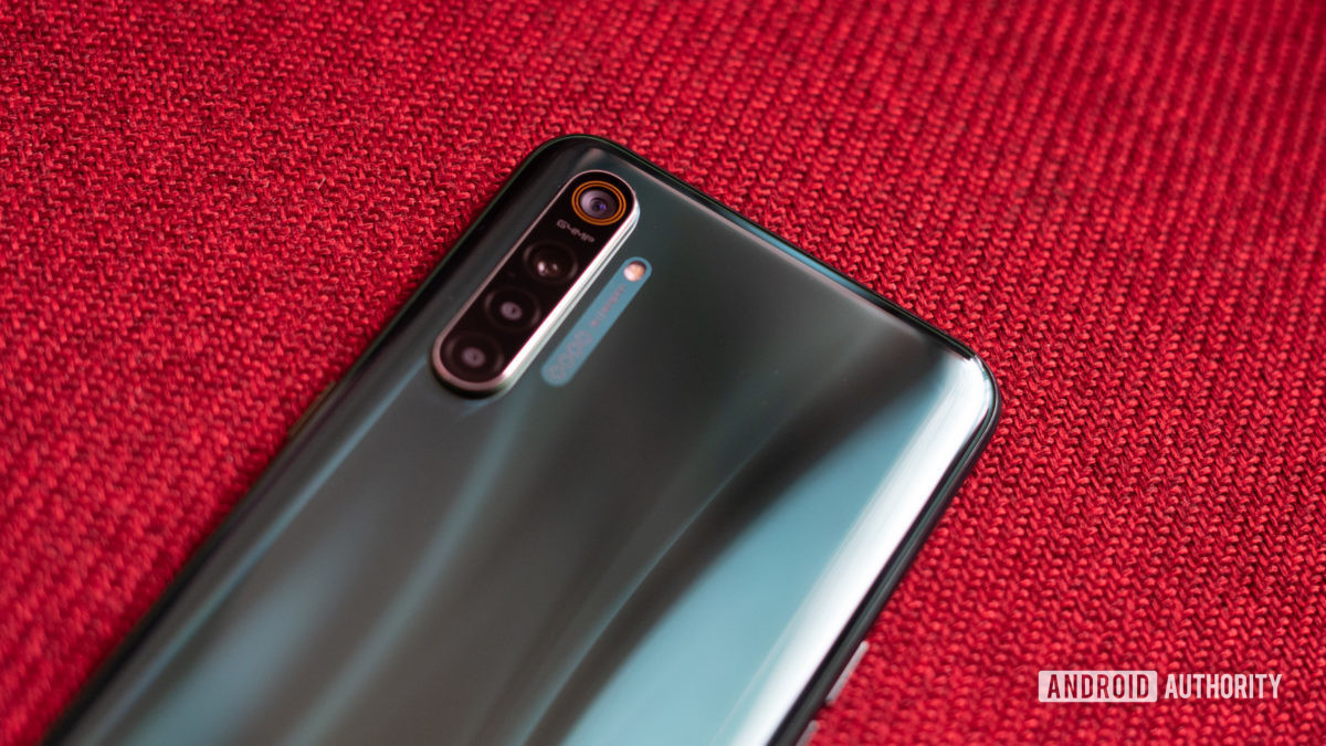 Realme X2 side angle showing camera module