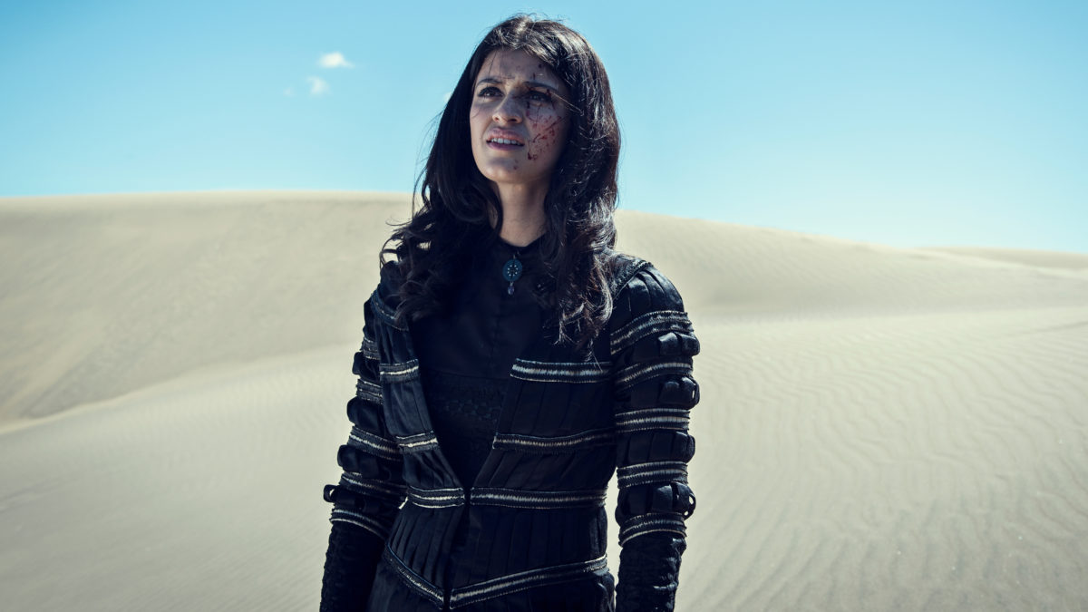 The Witcher Yennefer Production Still