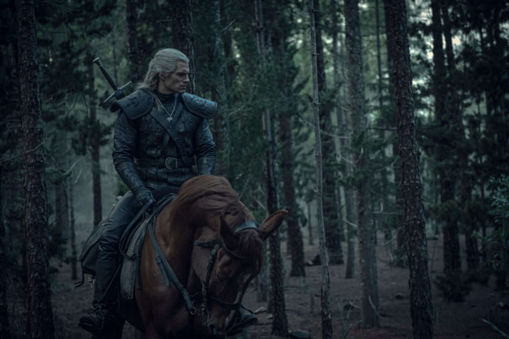 The Witcher Geralt Of Rivia Though The Woods Production Still