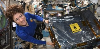 ISS receives new hardware for the coolest experiment in the universe