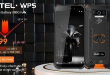 Oukitel launches $100 WP5 with 8,000mAh battery