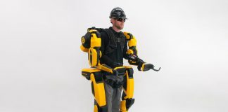 Want to lift 200 pounds without breaking a sweat? Strap into this exosuit