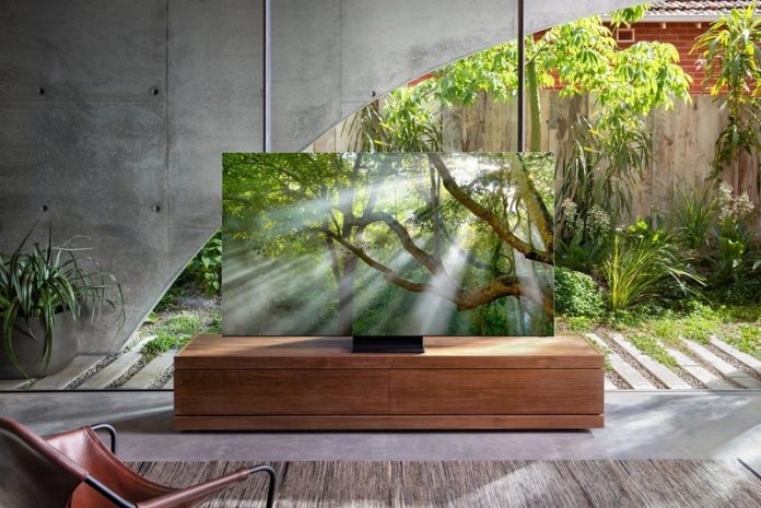 This stunning 8K TV from Samsung has (almost) zero bezels