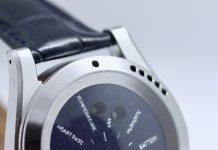 IEVA's Time-C smartwatch monitors health and environmental factors