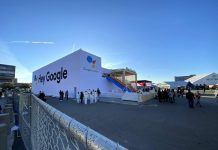 Take a look inside Google's CES 2020 booth
