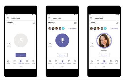 Microsoft Teams will soon add push-to-talk walkie talkie feature to smartphones