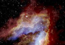 NASA's flying observatory peeks inside the iconic Swan Nebula