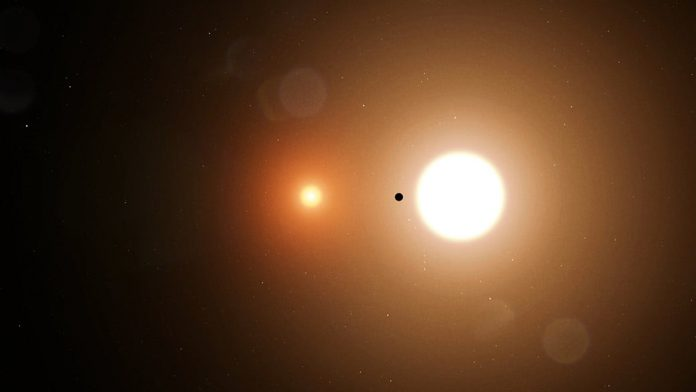Teenage NASA intern discovers single exoplanet orbiting two stars