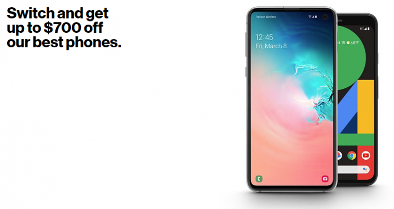 The best deals available at Verizon (January 2020)