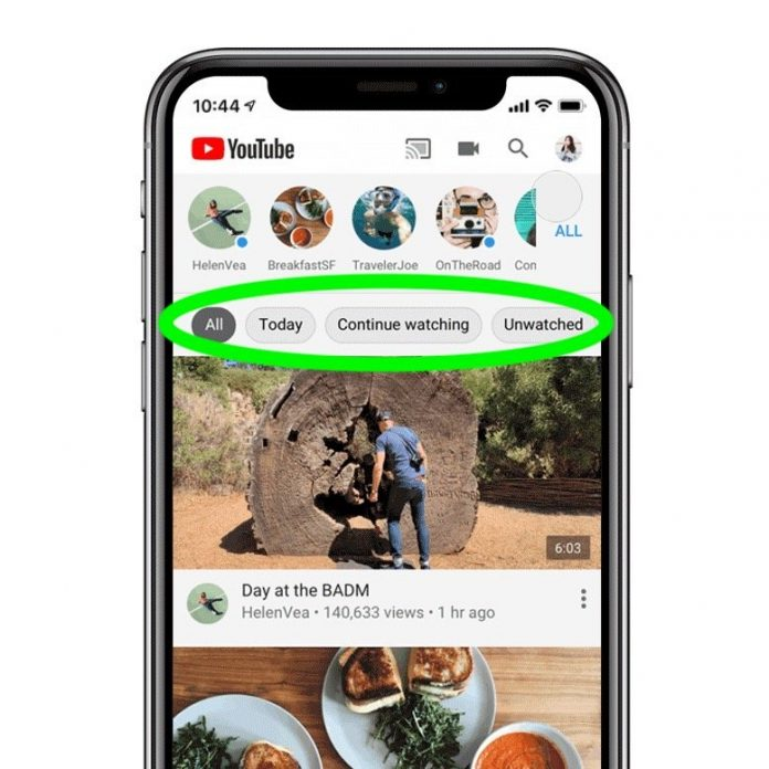 YouTube iOS App Gains 'Topics' to Filter Your Subscriptions Feed
