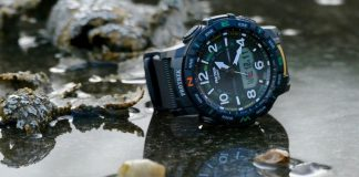 Weekend hikers need the connected Casio Pro Trek PRT-B50 watch on their wrist