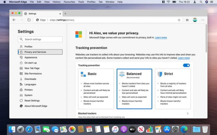 Using the new Microsoft Edge browser on a Mac feels wrong, and I love it