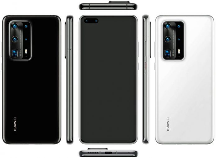 Leaked Huawei P40 Pro renders show an attractive two-tone camera module