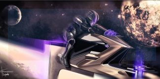Lexus concept designs show what lunar transport could look like in the year 2220