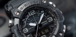 G-Shock's new Black-out Mudmaster is so stealthy, it may as well be a ninja