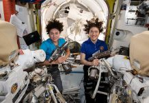 Watch NASA astronauts spacewalk to replace space station batteries