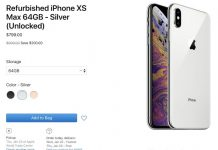 Apple Begins Selling Refurbished iPhone XS and iPhone XS Max Models