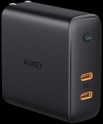 aukey-dual-port-usb-c-63w-charger-render