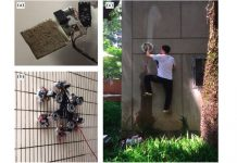 Water-powered suction cups let people climb walls like Spider-Man