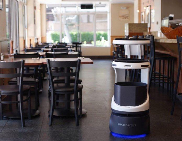 SoftBank likes what Bear Robotics has on the menu