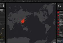 Coronavirus: Online dashboard tracks the spread of cases globally