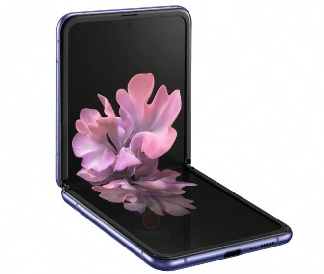 Samsung Galaxy Z Flip images leak online