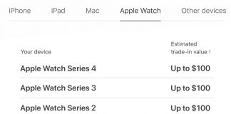 New Apple Watch Trade-In Promo Offers Up to $100 for Series 2 and Series 3 Models