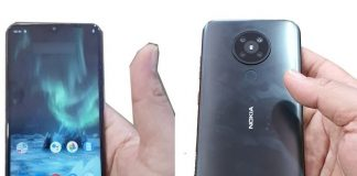 Leaked Nokia 5.2 hands-on photos reveal a waterdrop notch, quad cameras