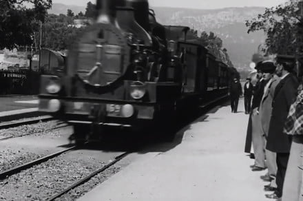 A.I. upscaling makes this film from 1896 look like it was shot in dazzling 4K