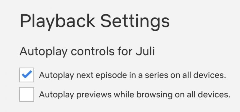 Netflix is Finally Letting You Turn Off Those Annoying Autoplay Previews