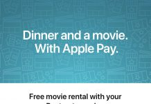 Apple Pay Promo Offers Free Movie Rental With Postmates Order