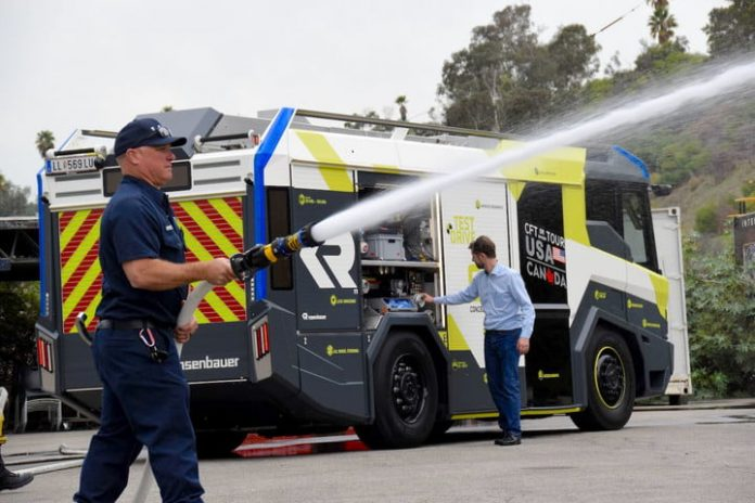 LAFD to go electric with first battery-powered fire truck in U.S.
