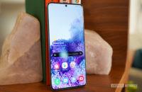 Samsung Galaxy S20 Ultra full screen
