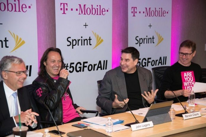 Are you glad that the T-Mobile and Sprint merger was approved?