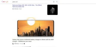 Google is testing search results with lots of pictures and almost no words