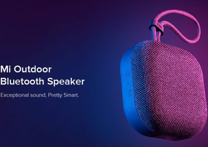 Xiaomi launches Mi Outdoor Bluetooth Speaker in India for ₹1,399 ($20)