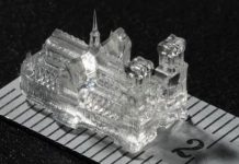 3D-printing technique produces tiny, highly detailed objects in seconds
