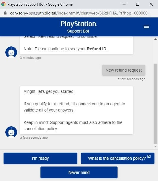 playstation-support-chat-bot-new-refund-